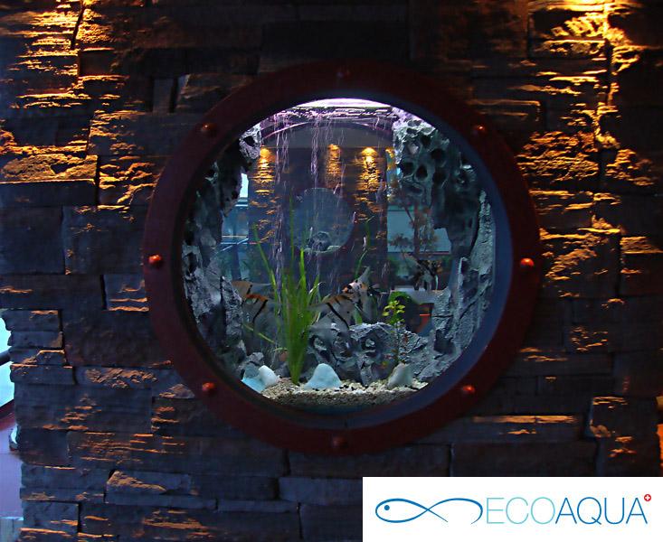 Aquarium at the restaurant